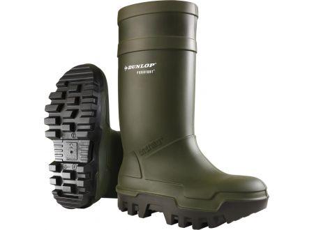 Purofort+ Stiefel Thermo Plus S5 grün-braun bei handwerker-versand.de günstig kaufen