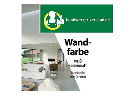 handwerker wandfarbe kaufen. Black Bedroom Furniture Sets. Home Design Ideas