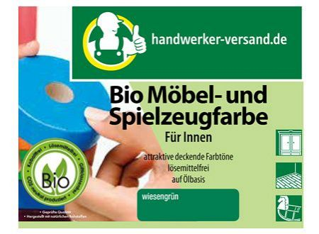handwerker bio m bel und spielzeugfarbe 250ml. Black Bedroom Furniture Sets. Home Design Ideas