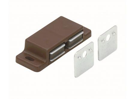 Magnetschnäpper  Farbe:braun