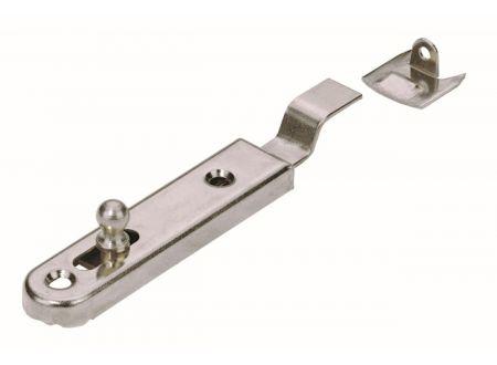 Möbelriegel  Material:vernickelt Länge:50mm Richtung:gekröpft