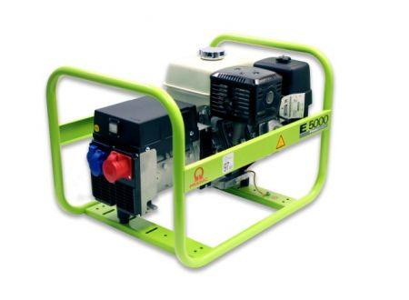 Stromerzeuger Pramac E-Serie Modell:E 5000 Ausführung:dreiphasig