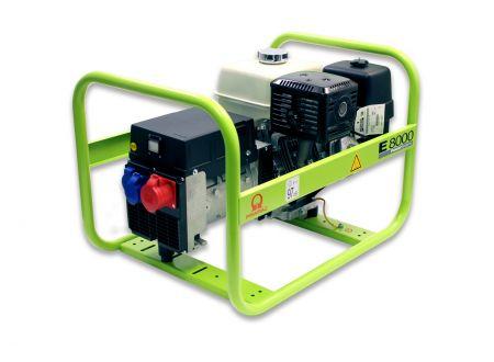 Stromerzeuger Pramac E-Serie Modell:E 8000 Ausführung:dreiphasig