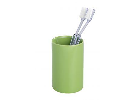 Keramik Zahnputzbecher Polaris Farbe:grün