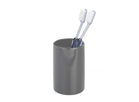 Keramik Zahnputzbecher Polaris Farbe:grau