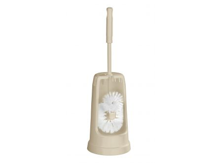 WC-Garnitur Standard mit Randreiniger Farbe:beige