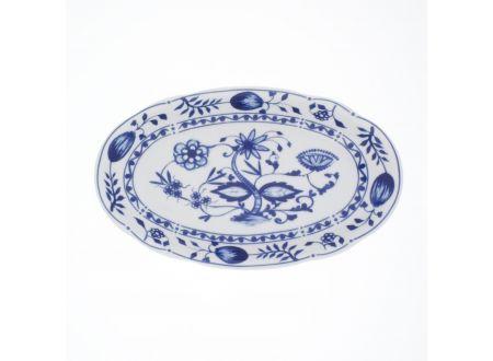 Rosella Zwiebelmuster Platte oval  bei handwerker-versand.de günstig kaufen