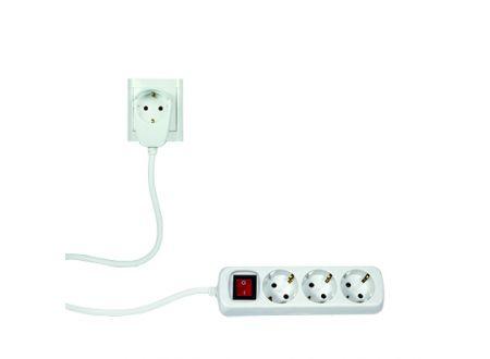 Powersplit Steckdosenleiste mit Schalter Ausführung:3-fach