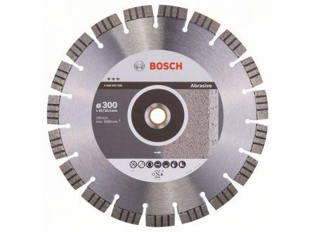 Bosch Diamanttrennscheibe Best for Abrasive Durchmesser:300mm Bohrungsdurchmesser:20,00mm/25,40mm