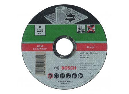 Bosch Bosch Trennscheibe INOX 115mm oder 125mm Ø x 1,0mm gerade Größe:115mm