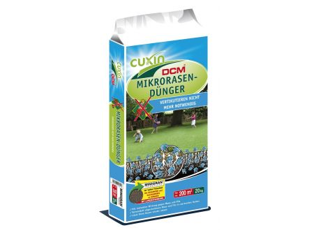 Cuxin Mikro-Rasendünger Minigran Inhalt:20kg