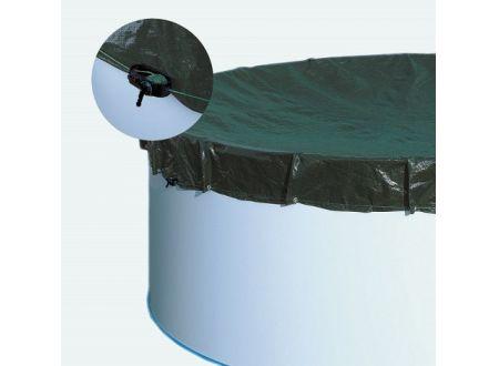 Waterman Extra-Abdeckplane für Acht-und Ovalformbecken Für Becken:3,00 x 4,70m