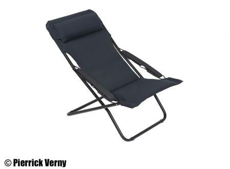 Lafuma Liegestuhl Transabed Plus Air Comfort Schwarz (New Acier) schwarz bei handwerker-versand.de günstig kaufen