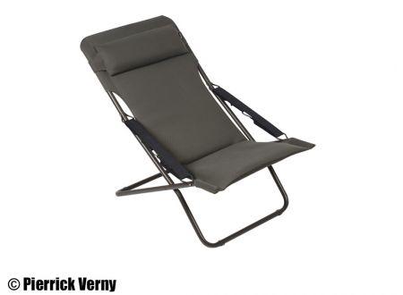 Lafuma Liegestuhl Transabed Plus Air Comfort taupe schwarz bei handwerker-versand.de günstig kaufen