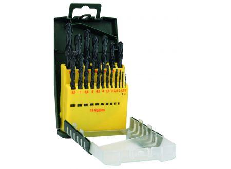 Bosch Metallbohrer HSS-R DIN 338 Set Ausführung:19-teilig Kunststoffbox