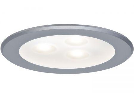 Möbel Einbauleuchten HighPower LED 3 Watt Ausführung:3x3W Farbe:Warmweiß