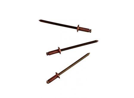 Blindnieten Kupfer Länge:10mm