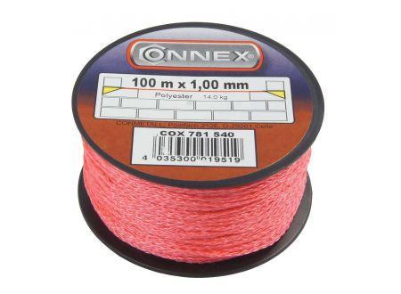 Maurerschnur Polyethylen Durchmesser:1,0mm Länge:100m Farbe:rot