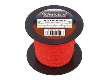 Maurerschnur Polyethylen Durchmesser:1,7mm Länge:100m Farbe:rot