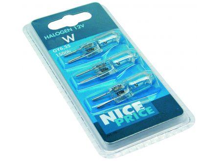 Nice Price 3-er Pack Stiftsockel 12V Ausführung:3x35W