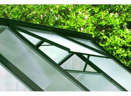 E.P.H. Schmidt Alu-Dachfensterrahmen Calypso ohne Glas Ausführung:grün