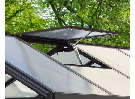 E.P.H. Schmidt Alu-Dachfensterrahmen für Zeus ohne Glas Ausführung:schwarz