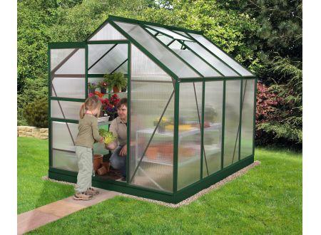 Gewächshaus Venus 5,0m² HKP 4mm grün bei handwerker-versand.de günstig kaufen