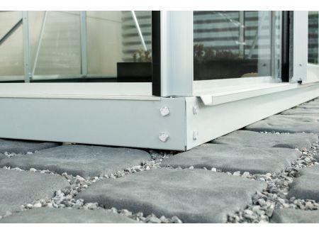 Fundament für Gewächshaus Ida 7,8m² Aluminium-Blank bei handwerker-versand.de günstig kaufen