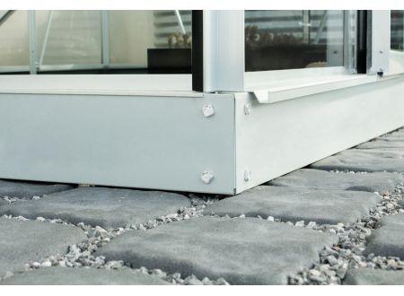 Fundament für Gewächshaus Apollo und Venus 5,0m² Aluminium-Blank bei handwerker-versand.de günstig kaufen
