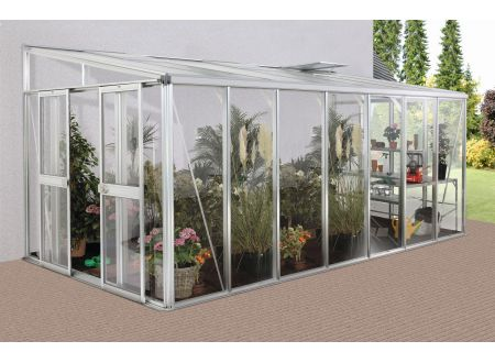Gewächshaus Helena 11,9m² Aluminium-Blank bei handwerker-versand.de günstig kaufen