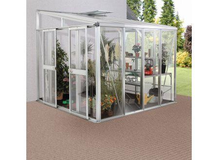 Gewächshaus Helena 7,0m² Aluminium-Blank bei handwerker-versand.de günstig kaufen