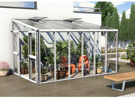 Gewächshaus Helena 10,2m² weiß bei handwerker-versand.de günstig kaufen