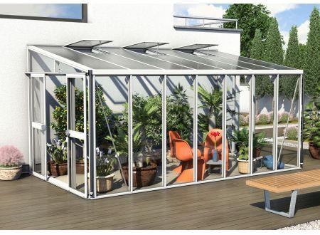 Gewächshaus Helena 11,9m² weiß bei handwerker-versand.de günstig kaufen