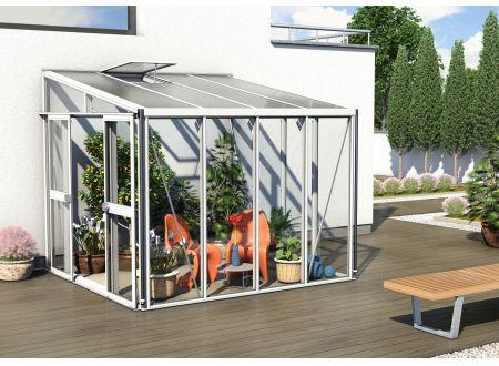 Gewächshaus Helena 7,0m² weiß bei handwerker-versand.de günstig kaufen