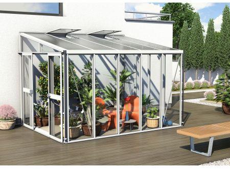 Gewächshaus Helena 8,6m² weiß bei handwerker-versand.de günstig kaufen