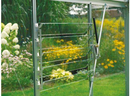 E.P.H. Schmidt Lamellen-Wandfenster mit ESG Farbe:Aluminium-Blank