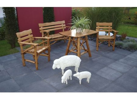 FRG Gartengarnitur Mosel 4-teilig bei handwerker-versand.de günstig kaufen