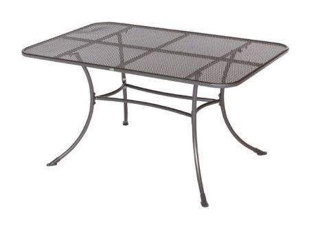 Frg tisch rivo aus streckmetall rechteckig 145x90cm kaufen - Streckmetall gartentisch ...