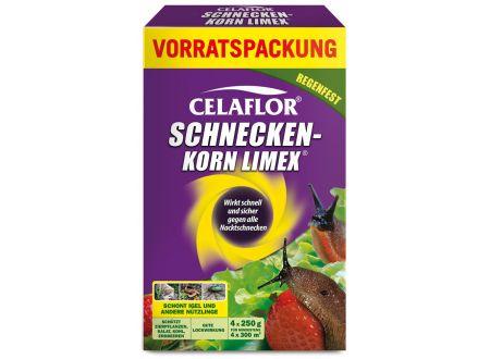 Schneckenkorn Limex Celaflor Inhalt:4x250g