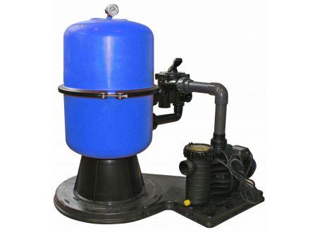Waterman Sandfilteranlage mit geteiltem Kessel Durchmesser:400mm