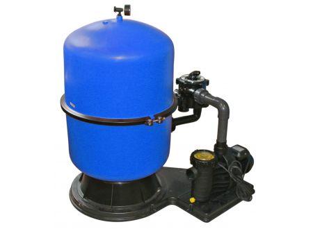 Waterman Sandfilteranlage mit geteiltem Kessel Durchmesser:500mm