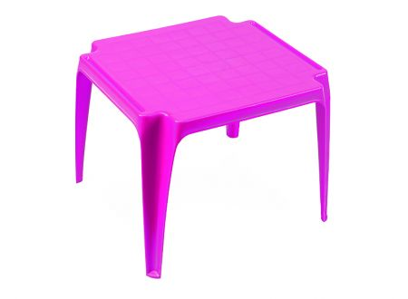 PROGARDEN Tavolo Kindertisch Farbe:pink
