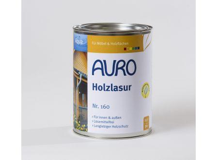Auro Holzlasur Aqua Farbe:weiß Inhalt:2,5l