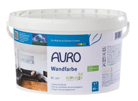 Auro Wandfarbe Ausführung:5l