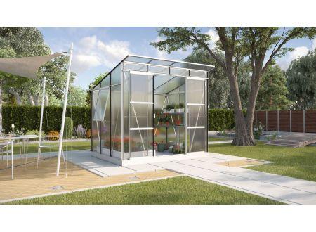 Gewächshaus Freya 5,9m² HKP Aluminium eloxiert bei handwerker-versand.de günstig kaufen