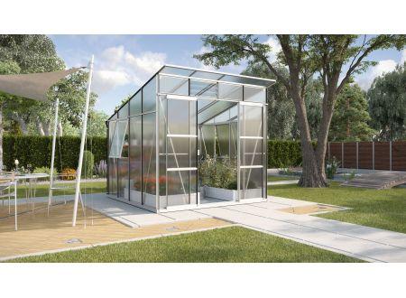 Gewächshaus Freya 7,6m² HKP Aluminium eloxiert bei handwerker-versand.de günstig kaufen