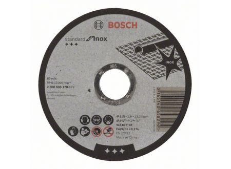 Bosch Trennscheibe gerade Standard for Inox bei handwerker-versand.de günstig kaufen