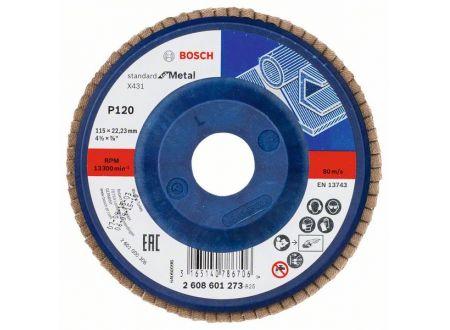 Bosch Fächerschleifscheibe X431, Standard for Metal bei handwerker-versand.de günstig kaufen