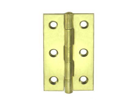 Scharniere schmal Ausführung:gelb verzinkt Größe:40x26mm