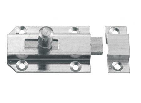 Connex Profilriegel Messsing vernickelt Ausführung:25x50mm